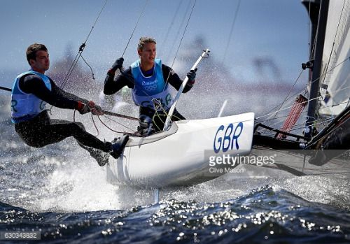 RIO DE JANEIRO, BRAZIL - AUGUST 11: Ben Saxton and Nicola Groves... #marinadicamerota: RIO DE JANEIRO, BRAZIL - AUGUST… #marinadicamerota