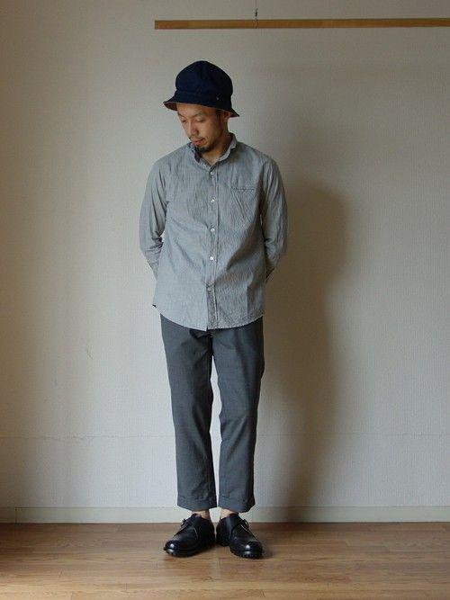 グレーのワントーンが気分です。    BLOG:http://blog.livedoor.jp/co