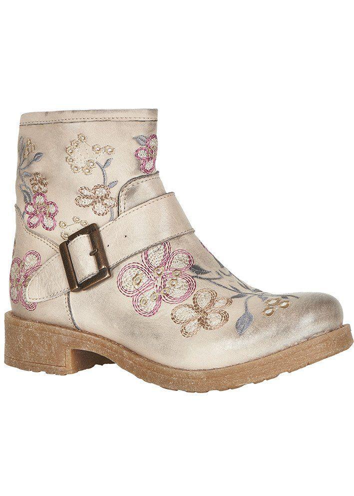 Støvler sand 10400599 Cream Denise Boots - warm taupe