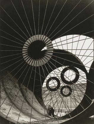 Margaret Bourke-White. Wind Tunnel Construction, Fort Peck Dam, Montana. 1936