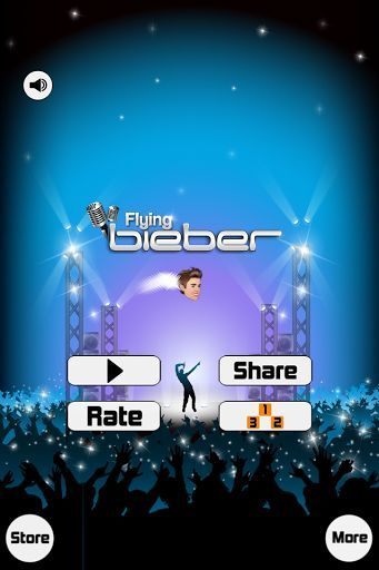 """Limited time special - Leave a rating with feedback, and receive """"Bieber Star Dust"""" for FREE!!!<p>See what the fuss is about. Based off of one of the most popular and epic apps of all time!!! Flying Bieber is that bird style game where you tap to fly with one of your favorite celebrities. Flying your Justin Bieber thru the concert of the century with a crowd of Beliebers cheering you on, avoid speakers that will end the event early with no ticket refunds. Sing your way in this smooth…"""