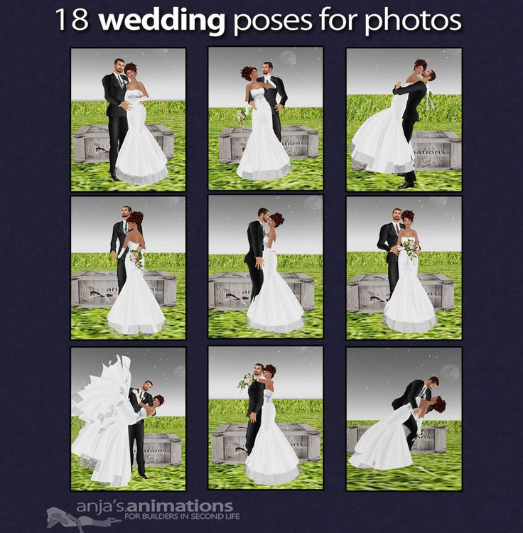 18 wedding poses