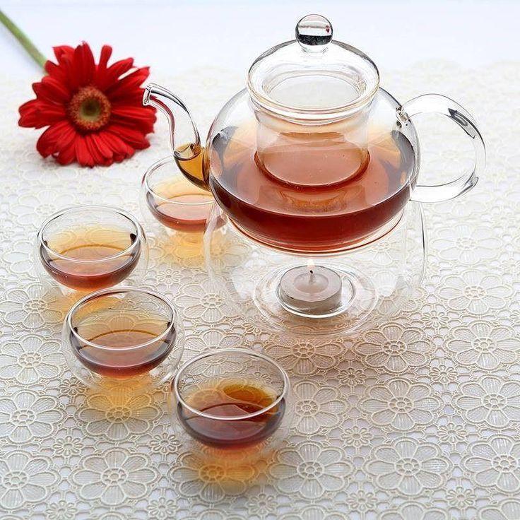 Complete Borosilicate Tea Set