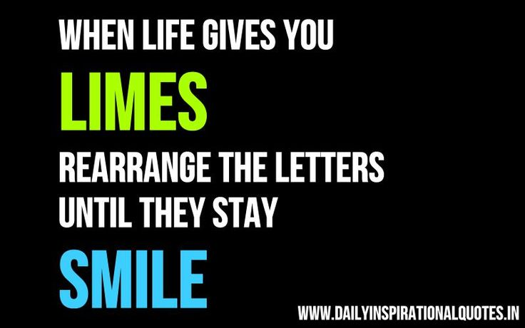 positive thinking jokes when life gives you limes