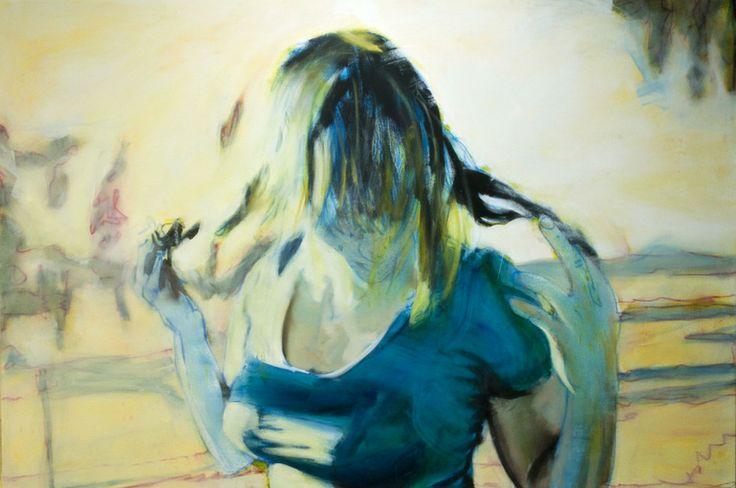 "Saatchi Online Artist: Jason Ramos; Oil, Painting ""My Aim Is True"""
