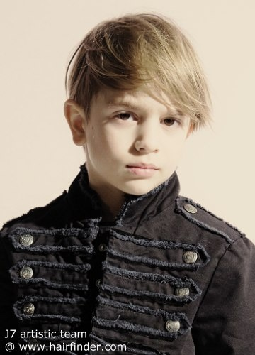 trendy hairstyle for little boys
