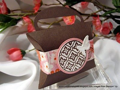 Creations by Patti: Mini Pillow Box & 66 best Pillow Box Ideas images on Pinterest | Pillow box Pillow ... pillowsntoast.com