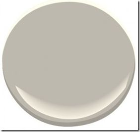 Thunder (AF-685) by Benjamin Moore    I chose this for a client at a recent colour consultation expecting it to be a greige. Once the painter was finished I realized that this is probably the perfect, elusive gray that we are all looking for. There are no obvious undertones that take over as there normally are with gray. It's deceiving on the chip though because it looks more greige than gray.