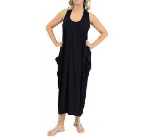 BNWT NEW MAXI DRESS SPRING SUMMER DRESS FREE SIZE OSFM BLACK 10 16  | eBay