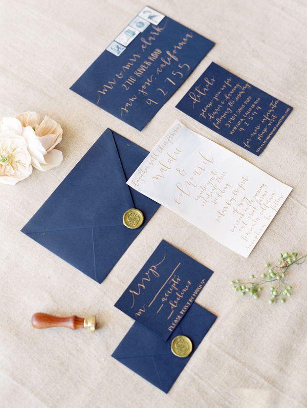 Land-Hochzeits-mit Kobalt-Blau und Purpur | HochzeitNeueste Mode and Frisur Ideen, Trends, Make-up, Beauty-Tipps