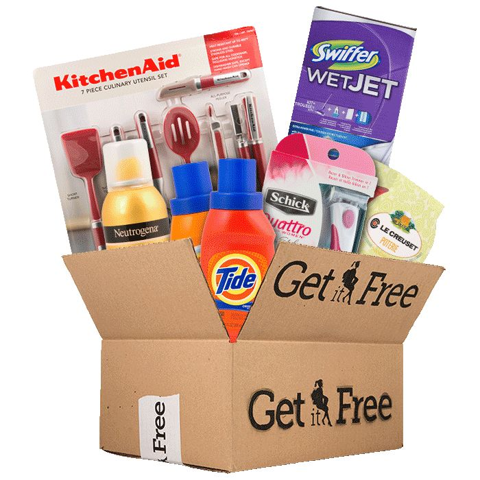 Free coupons sent to mailing address