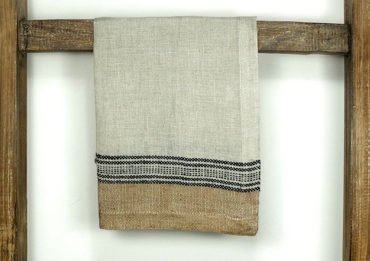 Libeco Belgian Linen Napkin Natural textured linen from Canvas Cloth and Bowl Beautiful earthy colours Home Collection