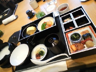 Japanese breafast @ The capitol hotel Tokyu