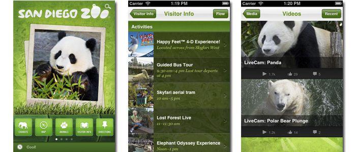 zoologico aplicacion movil - Buscar con Google