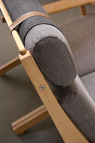 Hans Wegner sofa detail. #Hanswegner