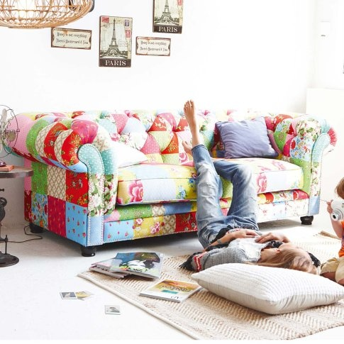 119 Best Images About Patchwork Upholstered On Pinterest Upholstery Chairs And Eclectic