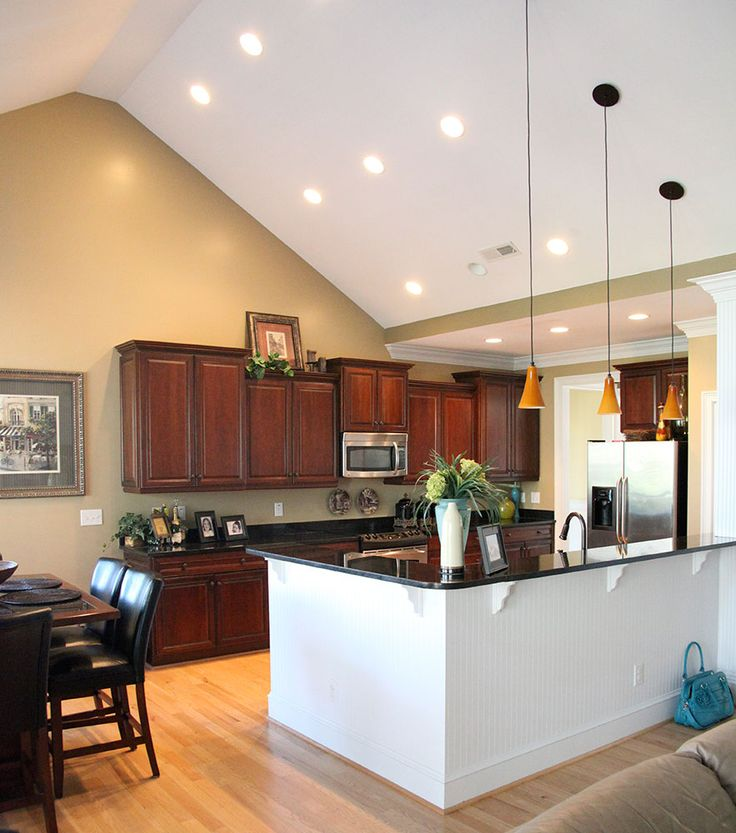 Overhead Kitchen Lighting Ideas: Top 25 Ideas About Vaulted Ceiling Kitchen Ideas On