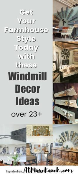 You're gong to love these windmill decor ideas, especially if you're trying to get that Joanna Gaines farmhouse style. Follow the link to take a closer look at all 23+ ideas and products.