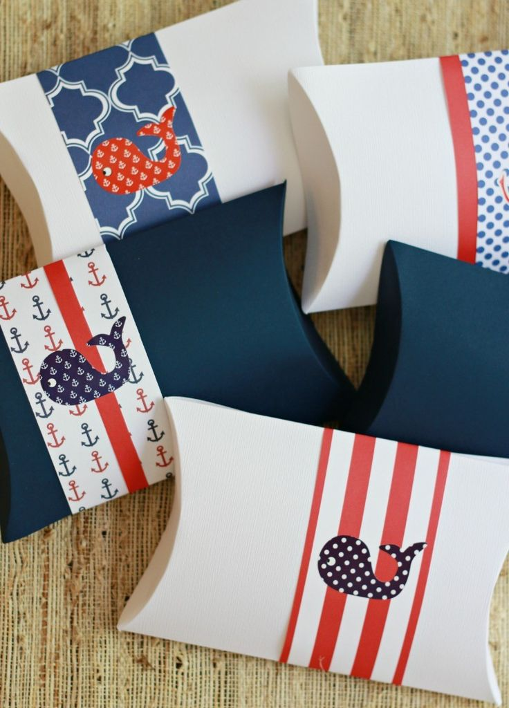 DIY Treat Boxes made with the Gift Box Maker from #marthastewartcrafts