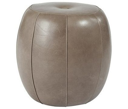transitional ottomans and cubes by Ballard Designs