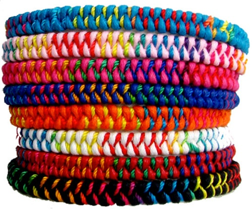 Texture - Colorful Braclets
