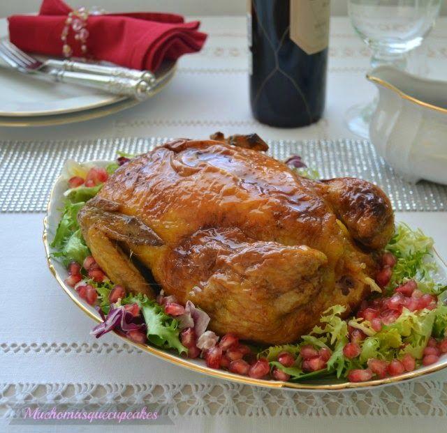 Pollo relleno para Navidad | Cocina