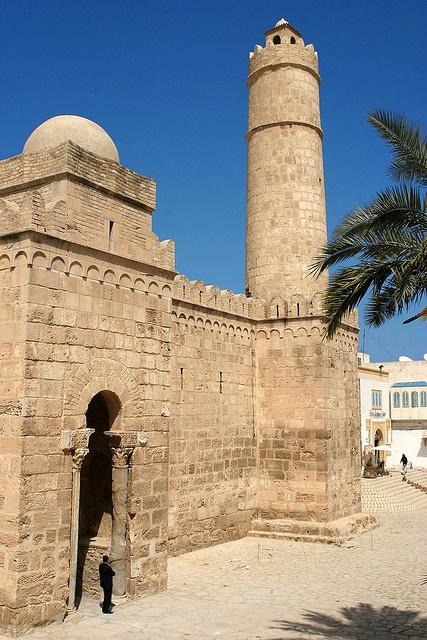 Ribat, Sousse, Tunisia, North Africa by curreyuk, via Flickr