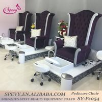 Factory special offer modern stella pedicure chair of nail salon furniture