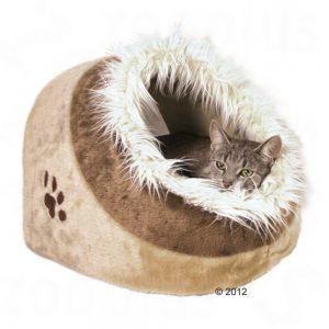 Nicchia per Gatti - Cuccia per Gatti di Soffice Peluche http://www.principini.it/prodotti/gatti/cucce-nicchie-gatti/nicchia-per-gatti