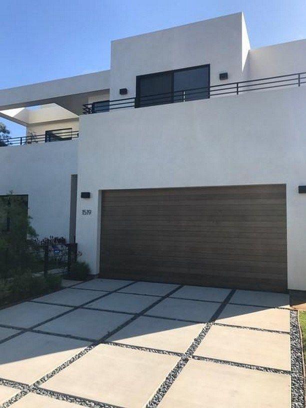 51 Popular Modern Dream House Exterior Design Ideas 41 Fieltro Net Garage Door Design Modern Garage Doors Modern Garage