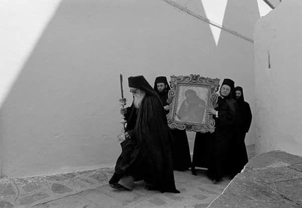 Πάτμος Πασχα 1989 φωτ.Νίκος Οικονομόπουλος