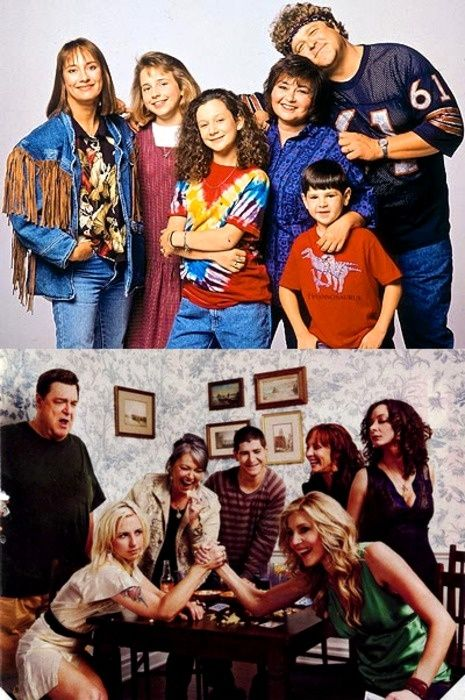 Roseanne -- Loved this show, 'cause the stories & characters had a realness not often seen on television.