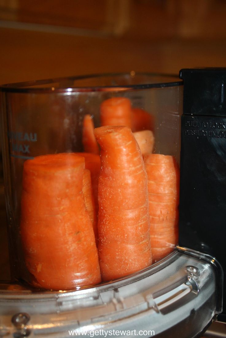 how to freeze carrot shreds