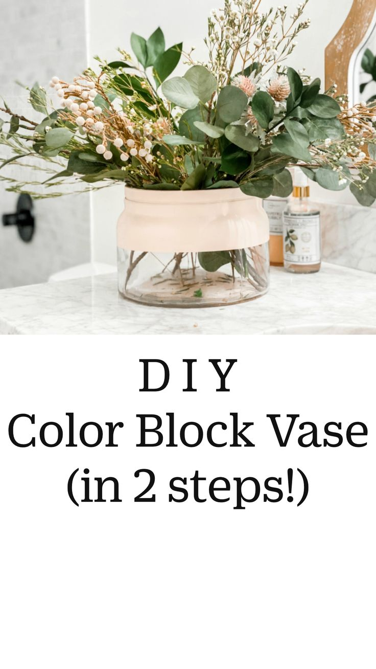 Diy Crafts For Home Decor, Home Craft Ideas, Diy Crafts Vases, Diy Home Projects Easy, Easy Painting Projects, Shabby Chic Interiors, Diy Kitchen, Diy Gifts, Decorating With Vases