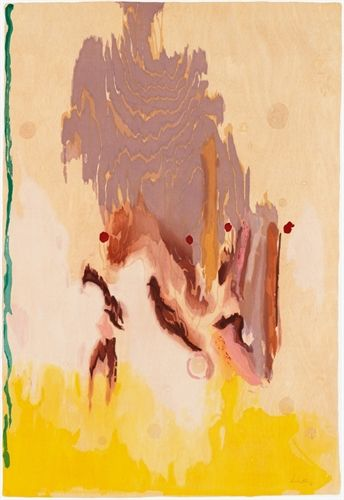 Geisha by Helen Frankenthaler on artnet Auctions