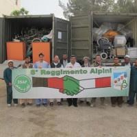 Afghanistan: attrezzature mediche all'ospedale di Farah