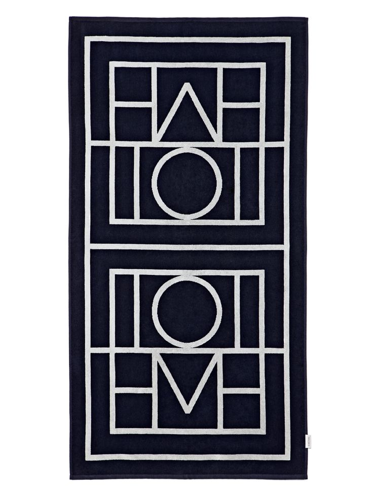 The Biarritz Beach Towel is woven from soft cotton-terry jacquard with our classic monogram emblem. The large size makes the towel a perfect accessory for the beach trips and vacations. [...]Read More...