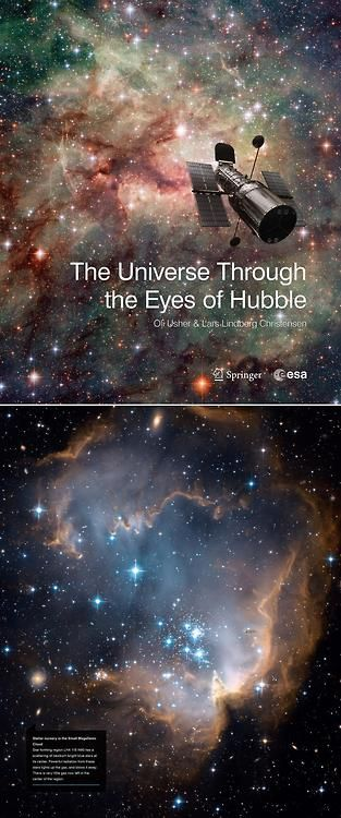 The Universe Through the Eyes of Hubble Designed with large images and distraction-free layouts to increase the impact of Hubble's imagery, this book gives the reader a guided tour of the cosmos through the eyes of the Hubble Space Telescope.