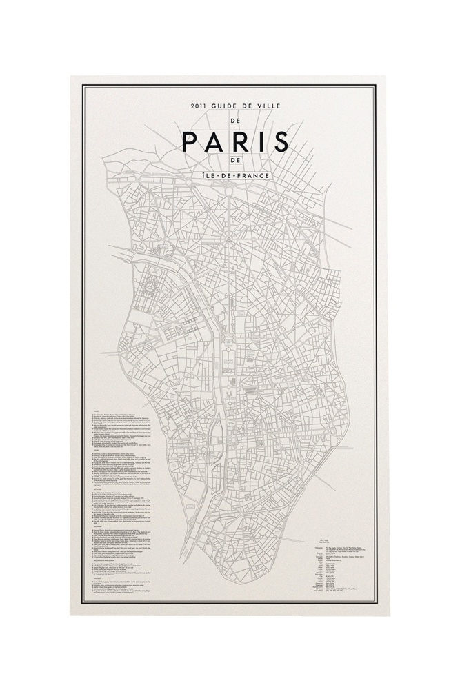 47 Best Maps And Travel Graphic Inspiration Images On Pinterest: Paris City Map Poster At Infoasik.co