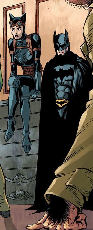 jasonodd: Injustice : Year 3 → Selina Kyle & Bruce Wayne