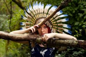 What Is Cultural Appropriation and Why Is It Wrong?: Woman in Native American…