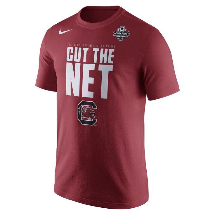 South Carolina Gamecocks Nike 2017 NCAA Men's Basketball Tournament Final Four Bound East Regional Champions Locker Room T-Shirt - Garnet