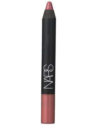 "Nars Velvet Matte Lip Pencil in Sex Machine - the ""blushed pink stain gives lips a just-kissed look when worn alone and makes a great base for a rosy or mauve lipstick."".... my absolute fav for every day!"