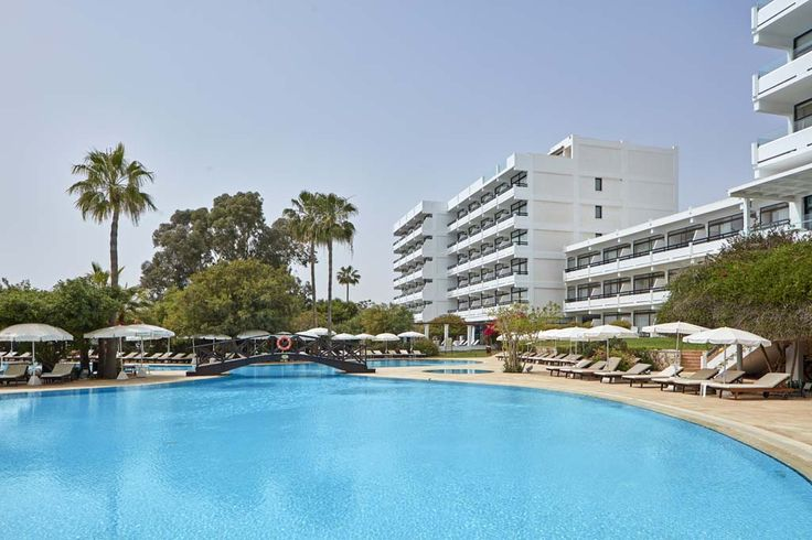 Our inviting pool is waiting for you to dive in at Grecian Bay Hotel Cyprus!