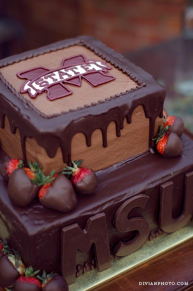 Mississippi State University Cake MSU