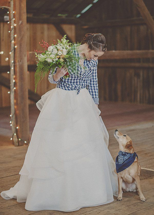 Plaid wedding inspiration