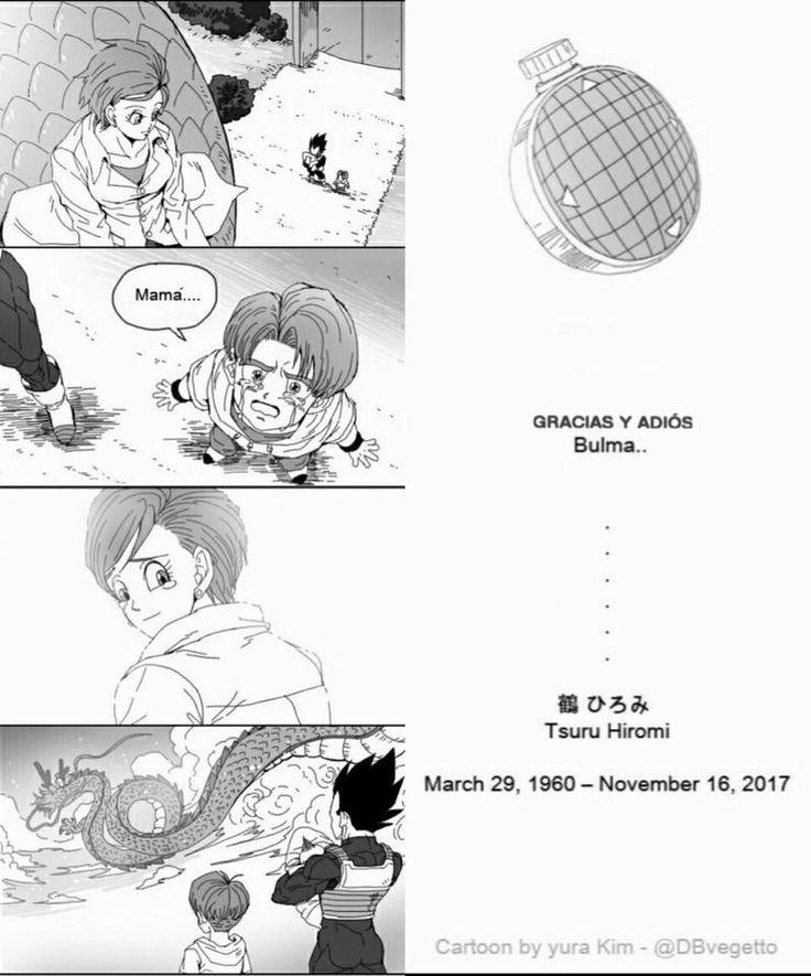 Fallece Hiromi Tsuru la voz de Bulma en Dragon Ball e internet le hace un homenaje