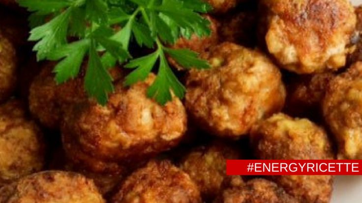 Frittelle di riso integrale, ceci e alga wakame - #energyricette