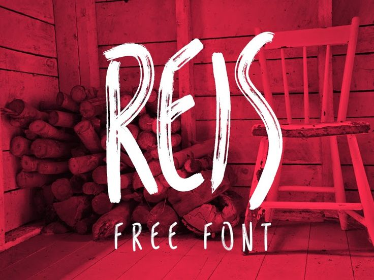 Free PSD Goodies and Mockups for Designers: REIS FREE FONT BY MARCELO REIS MELO