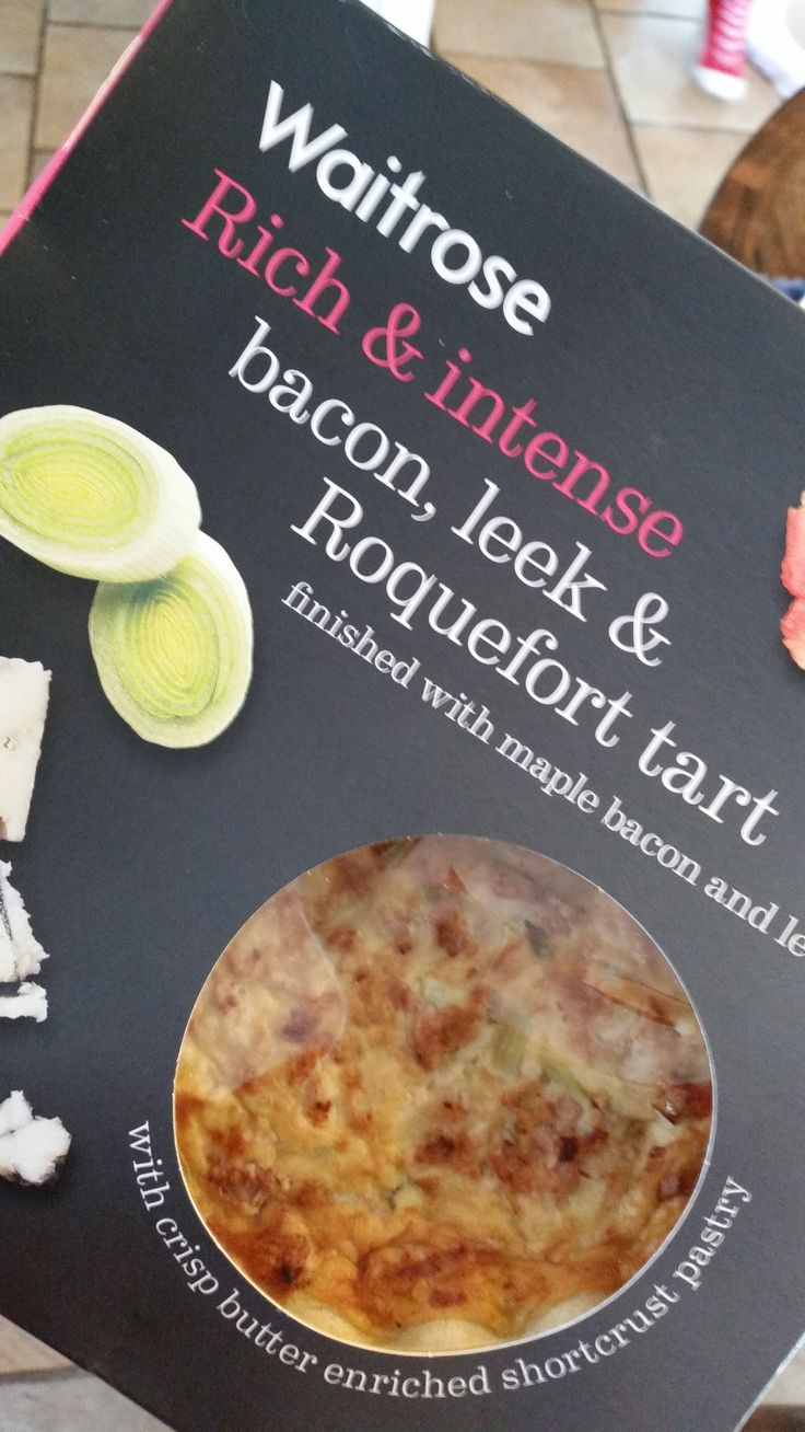 Tarts and quiches are also an excellent meal with salad. They tend to be quite high in calories, but providing you get one where the main ingredient is not cheese, they are filling and tasty.